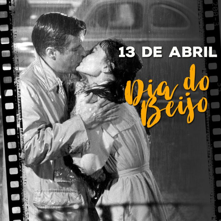 13 de abril Dia do beijo
