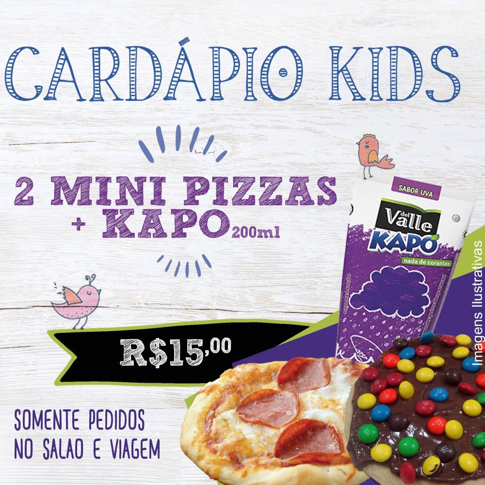 Promoção Cardápio Kids Don Carlone